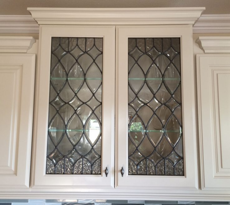 Impressing Stained Glass Kitchen Doors Of S Frame Aluminum Stainedglasskitchen