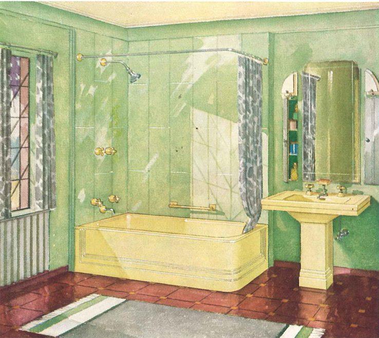 Impressing Yellow Bathroom Paint Ideas Of Vintage Vintage