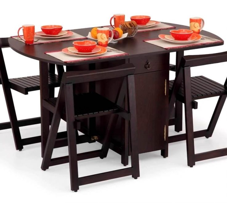 Impressive Collapsible Table And Chairs Of Enjoyable Folding Dining With Ng Dining Set