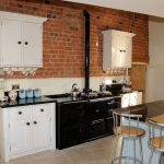 Impressive Red Brick Kitchen Wall Tiles Of Kitchendecorations Design With Lacquered For Superb