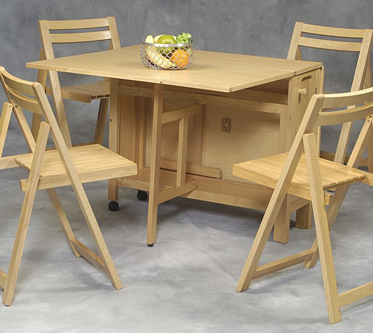 Impressive Space Saving Folding Table Of Extendable Dining Tables | Dining Tables |