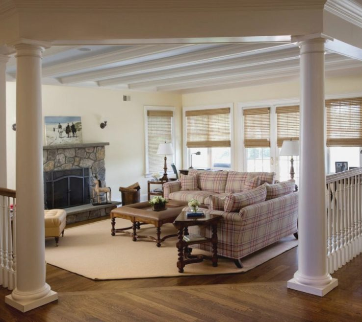 Indoor Column Ideas Of For Living Room : 45 Related Designs