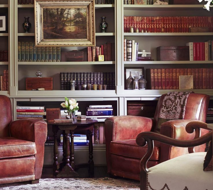 Ing Bookshelves Library Style Of Traditional But Not Overdone English Library Great