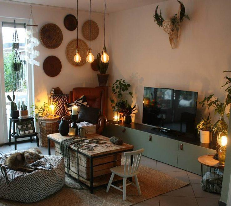 Ing Cozy Home Decor Of Bohemian Eclectic Livingroom Decor Boho Chic Home