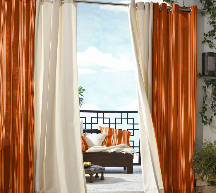 Ing Curtains With Orange Walls Of Full Size Of Modern Kitchen:is A Good