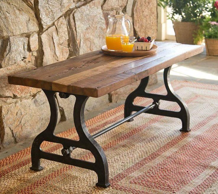 Ing Garden Bench Table
