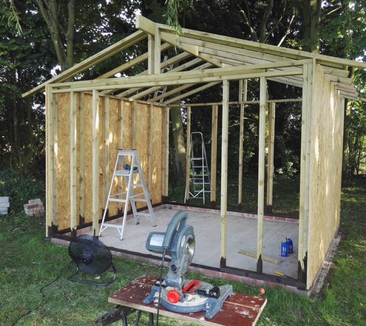 Ing Summer E Garden Room Of Construction Installation Dual Pitched Roof Contemporary