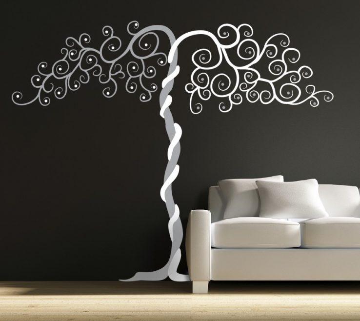 Ing Vinyl Wall Art Ideas Of Design Ideas: Tango Design Tree