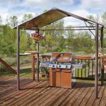 Inspiring Bbq Grill Design Ideas Of Fantastic Deck Area With Barbecue And Outdoor