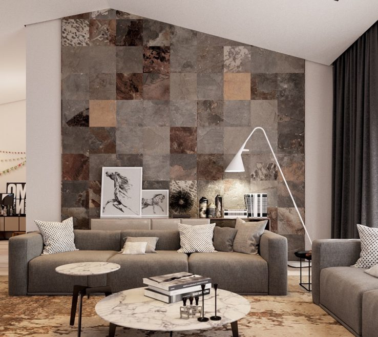 Inspiring Decorative Ceramic Wall Tile Of Tiles For Living Room Interior Decoration