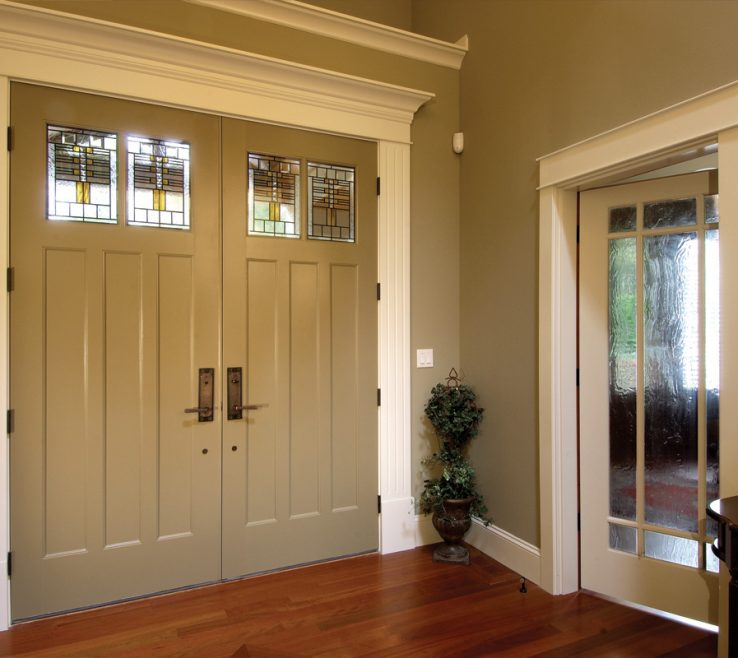 Inspiring Interior E Doors Designs Of Entryway With Double Front