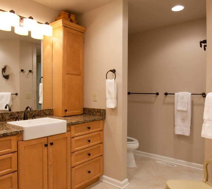 Inspiring Small Space Lighting Of Bathroom Remodel Ideas