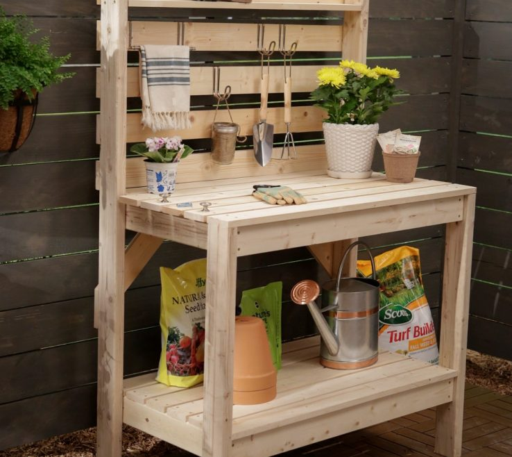 Inspiring Small Wood Project Ideas Of Woodworking To Enrich Your Garden Cut
