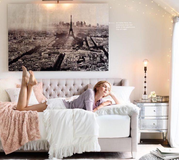 Inspiring Teen Bedroom Colors Of Rh Bedroom. I Love The Soft Gray