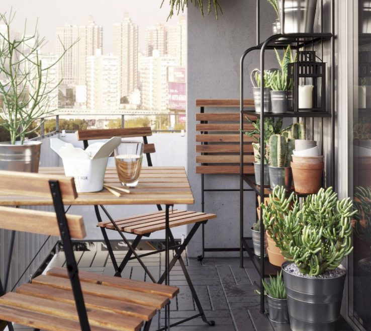 Interior Design For Apartment Balcony Furniture Ideas Of 26 Inspiring Decorating On A Budget