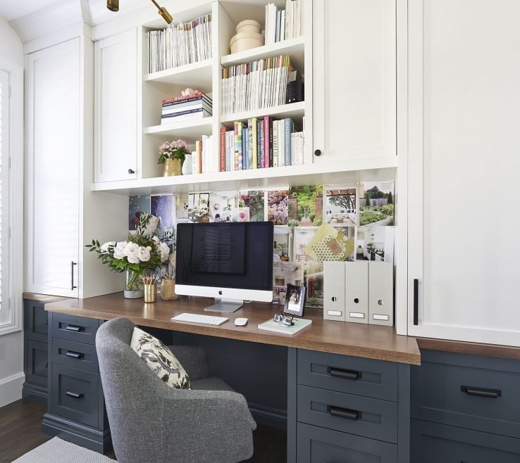 Interior Design For Built In Home Office Of Office Craft Room Reveal Space Craft Supply