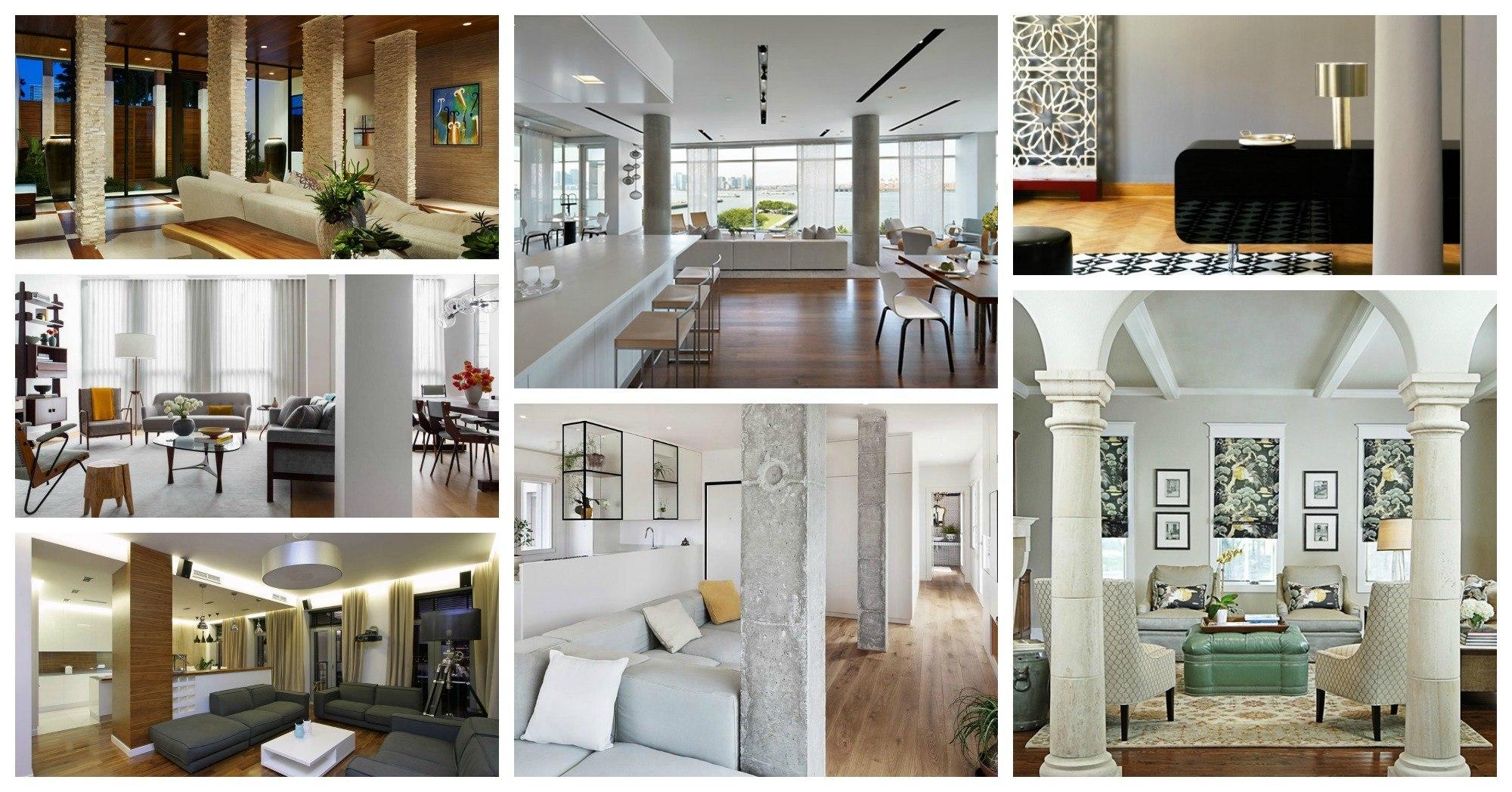 Interior Design For Interior Columns Design Ideas Of Tag: Column ...