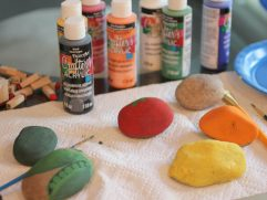 Painted Rocks For Garden