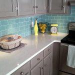 Interior Design For Red Brick Kitchen Wall Tiles Of Backsplash Backsplash Tile Mint Cream Large Grey