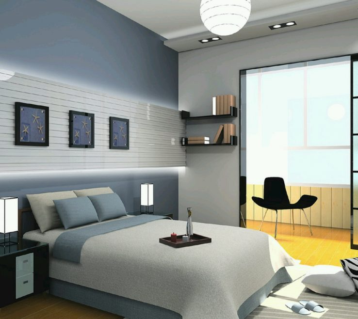 Interior Design For Small Space Lighting Of Modern Apartment Bedroom In With Cool Ideas