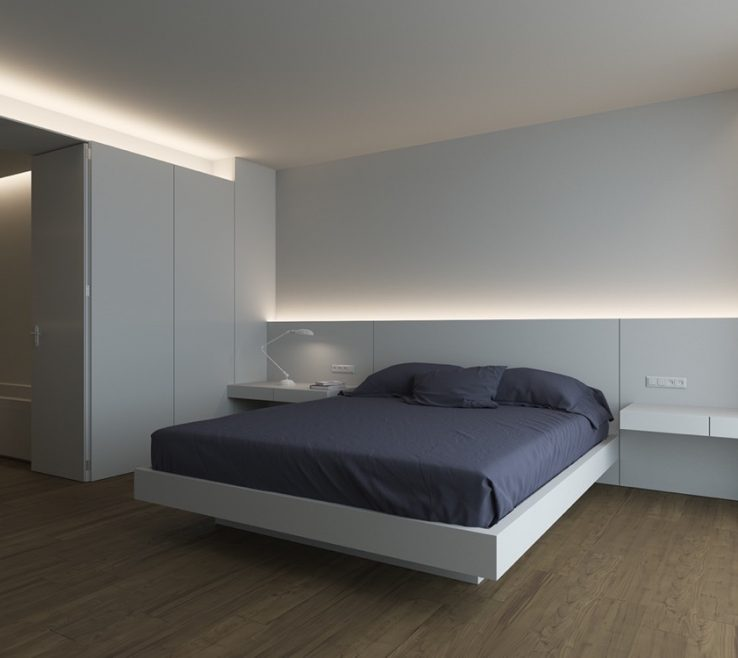 Led Room Lighting Ideas Of Image Of: Bedroom