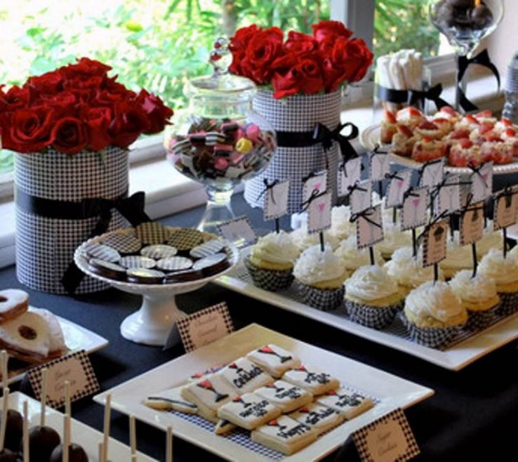 Likeable Black And White Decorating Ideas For A Party