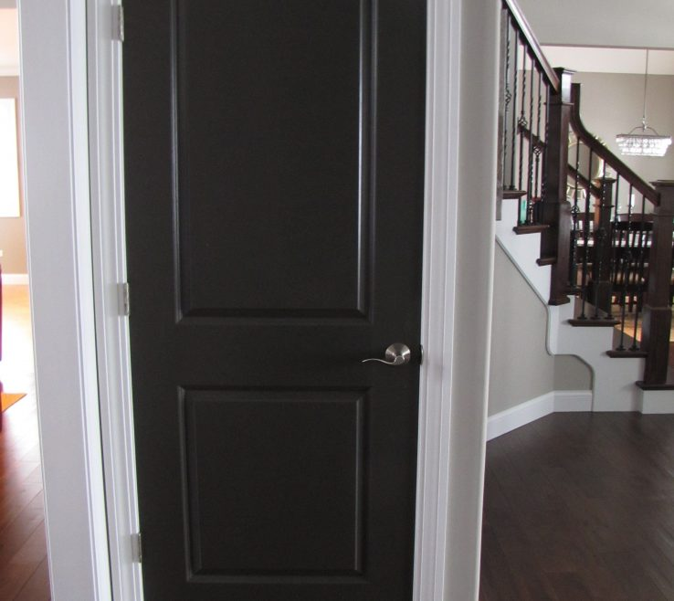 Likeable Black Interior Doors Of Beautify Your Contemporary Design With Doors Terrific