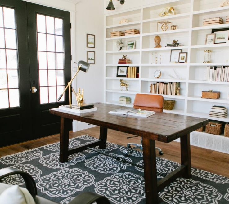 Likeable Black Interior Doors Of Home Office With Updated E Style