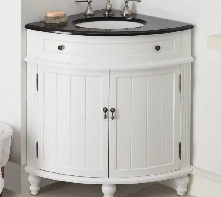 Likeable Corner Sink Vanity Of Bathroom | Bathroom |