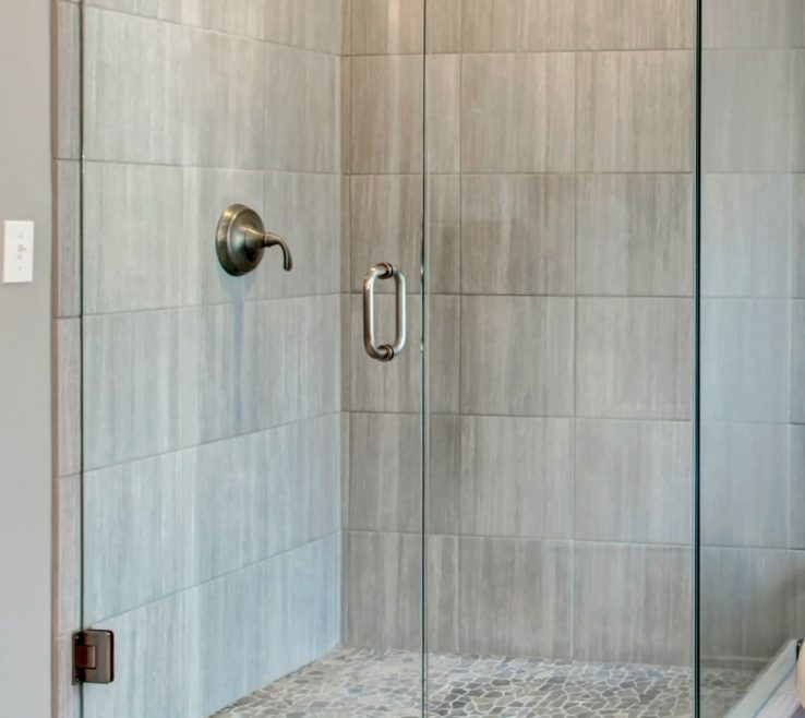 Likeable Small Bathroom Tile Ideas Of Showers Corner Walk In Shower For Simple