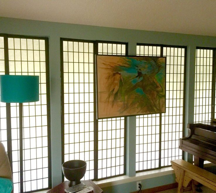 Likeable Unique Window Treatments Of Shoji Screens (hinges Removed) For Treatment?