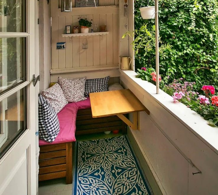 Lovely Balcony Ideas Of Small, Tiny And Micro Design