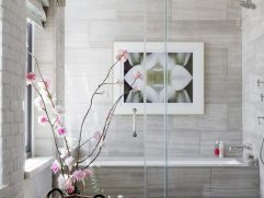 Contemporary Tub Shower Combinations