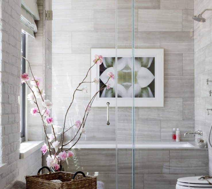 Lovely Contemporary Tub Binations Of Small Bo Remodeling Ideas