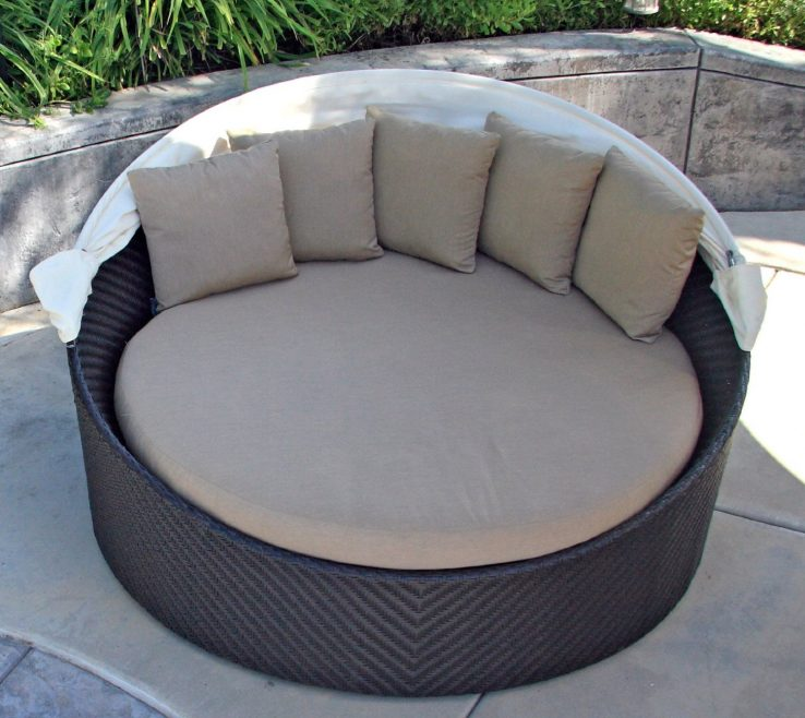 Lovely Diy Outdoor Daybed With Canopy Of Furniture: Cozy Ing — Www.review
