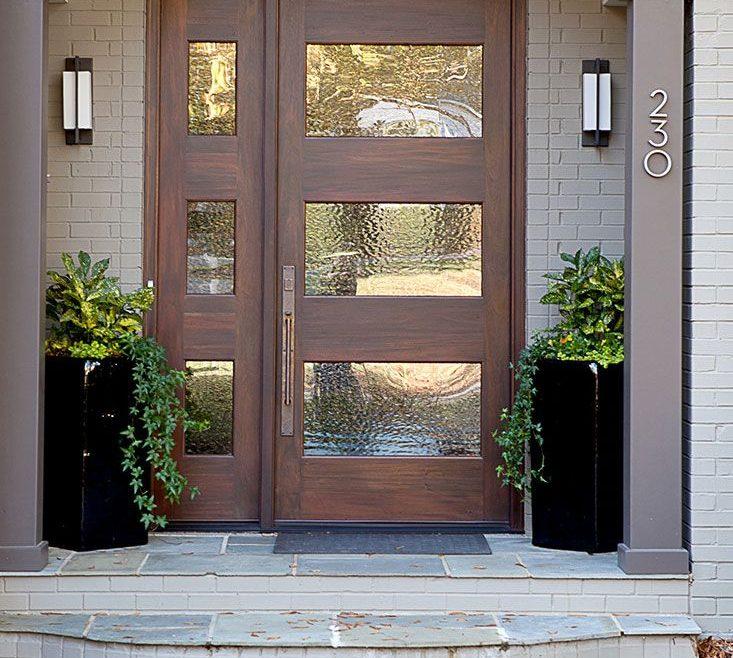 Lovely Interior E Doors Designs Of Modern Front Door // Home Interiors //