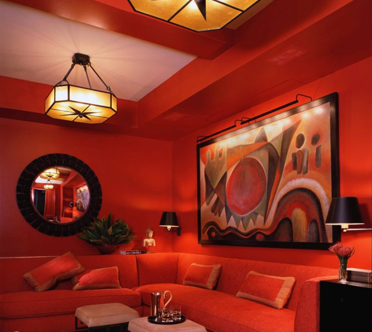 Lovely Orange And Brown Home Decor Of Examples Of What Color Goes With Orange Examples Of What