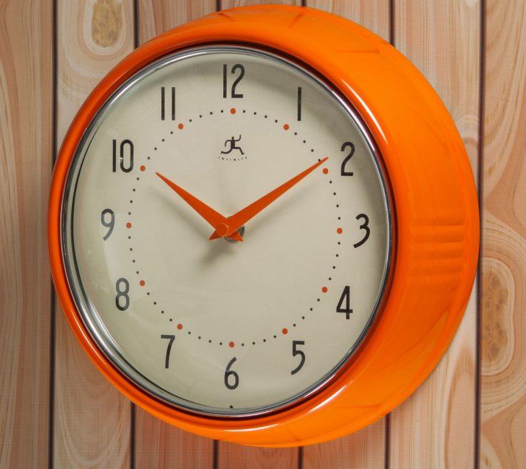 Lovely Wall Clocks For Kitchens Of Kitchen Clock · Hover To Zoom