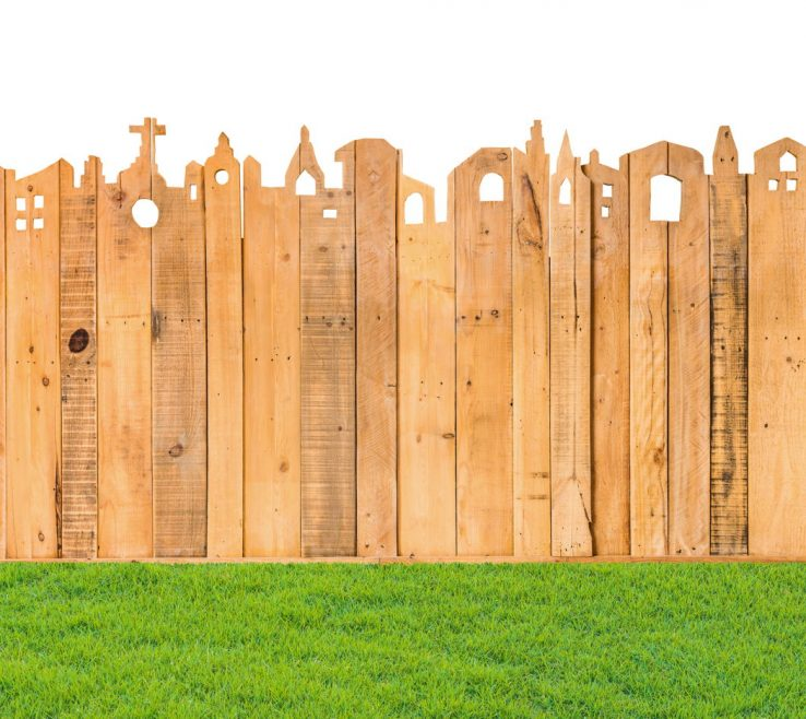 Lovely Wood Fence Designs Of Unique