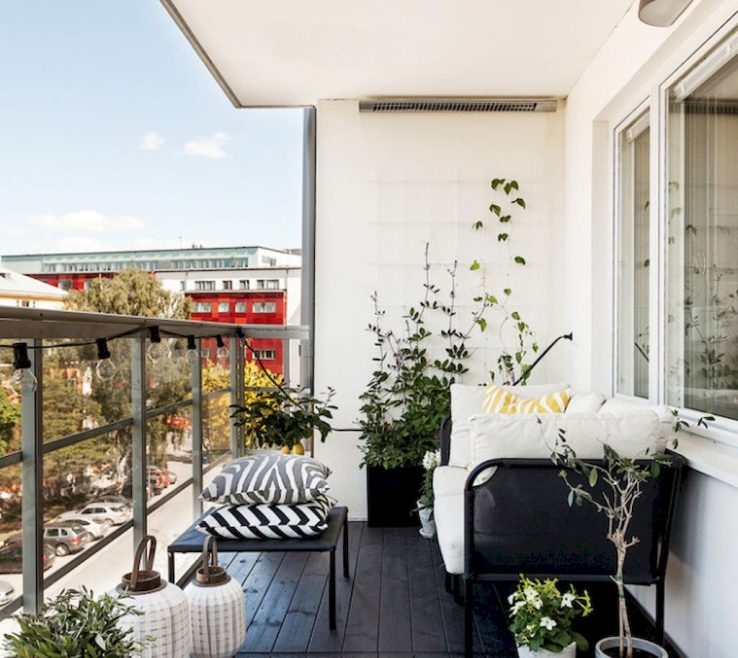 Magnificent Balcony Designs Of 72 Smart With Scandinavian Ideas