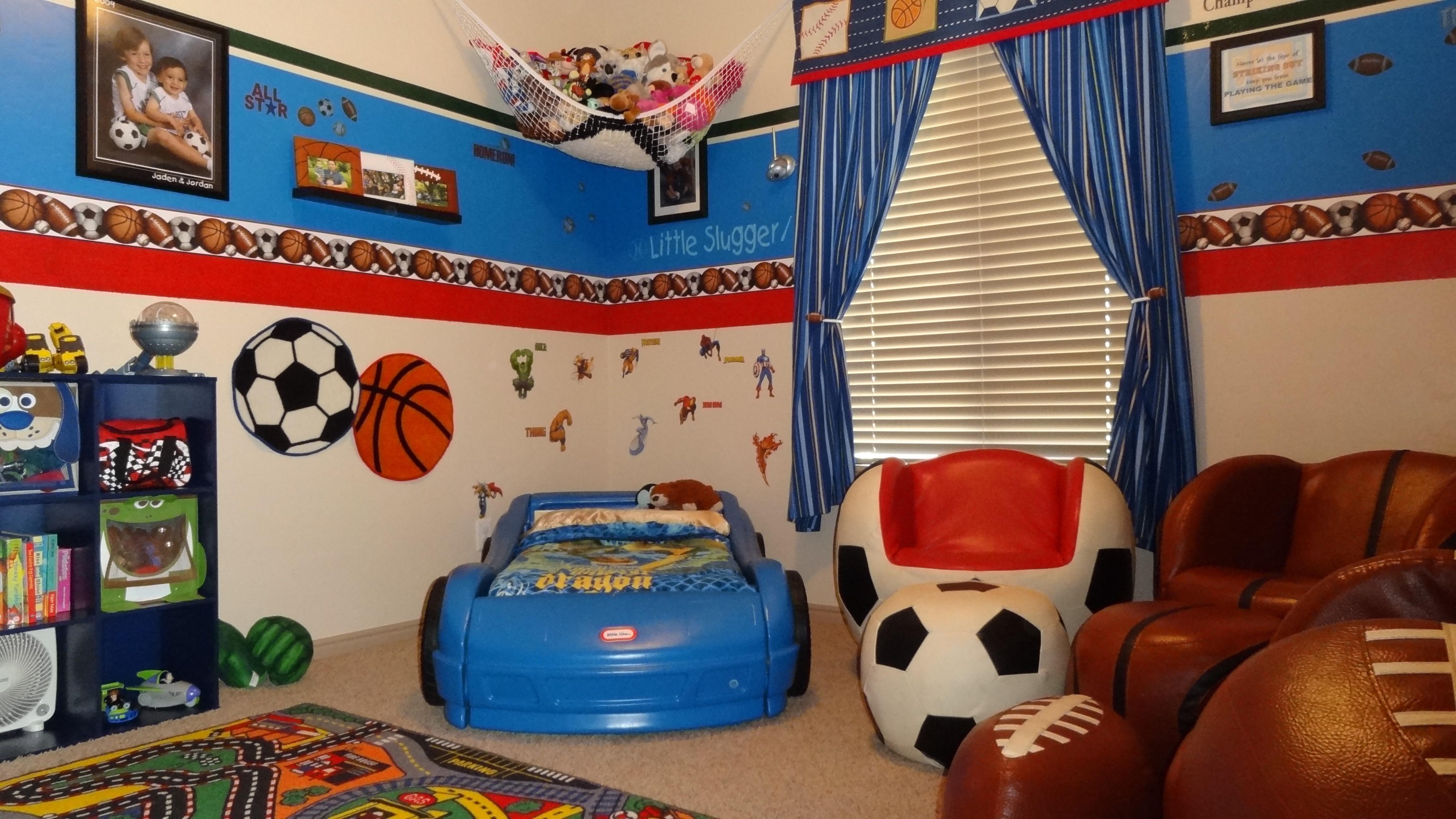 Boys Room Sports Theme Acnn Decor