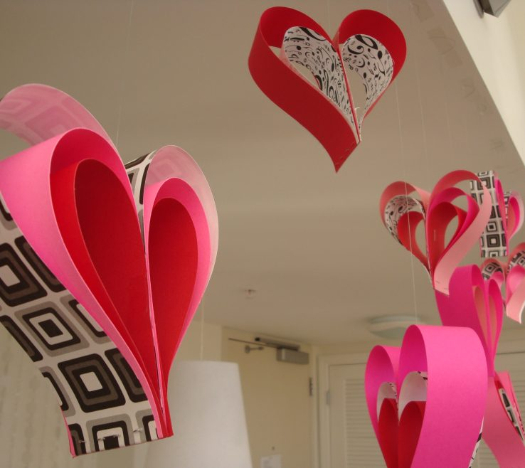 Magnificent Heart Decorations Home Of Why May?
