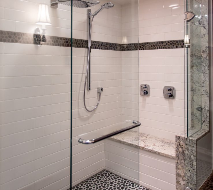 Magnificent High End Shower Of Heated Seat Fixtures Spruce St