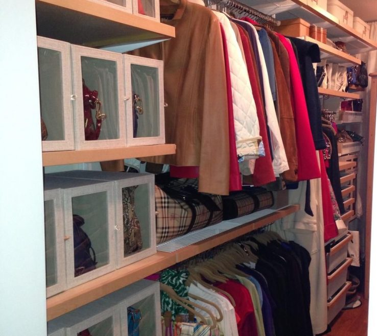 Magnificent How To Organize Pocketbooks Of Purse Storage Ideause Sweater Boxes Display Them!