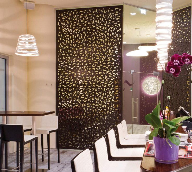 Magnificent Interior Partition Wall Ideas Of Mdf Decorative Panel / For Walls /