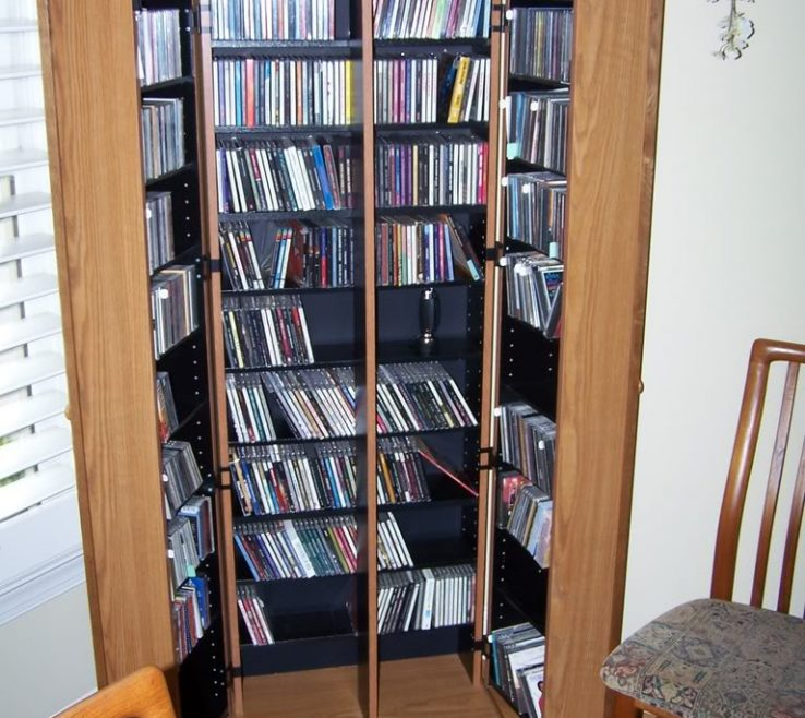 Magnificent Space Saving Ideas Of Creative Cd Storage Solution Idea