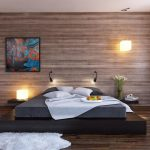 Mesmerizing Modern Accent Wall Ideas Of Image Of Wood Bedroom