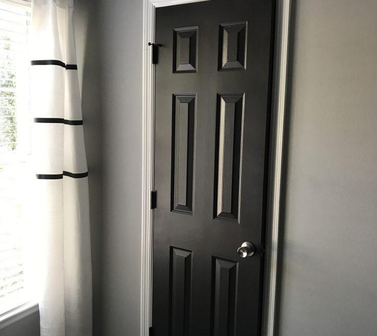 Mesmerizing Modern Room Doors Of Black Interior | Dark Interior Doors| Benjamin