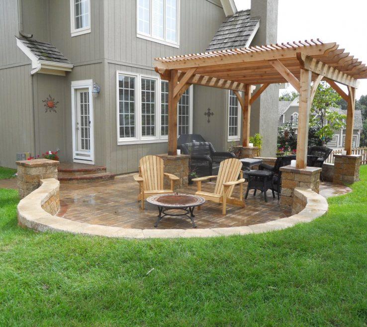 Mesmerizing Outside Canopy Ideas Of Backyard