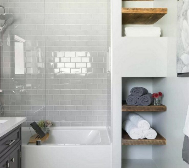 Modern Bathroom Shower Of Bathrooms On A Budget, Budget Makeovers, Master